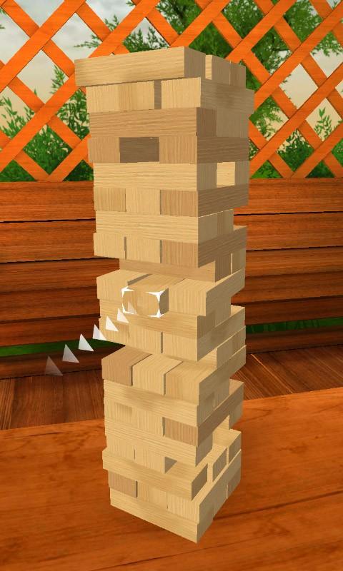 Строительство башни из блоков